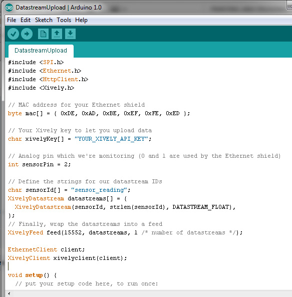 Tutorial arduino xively marco pucci