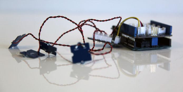 Arduino touch sensor robotics d