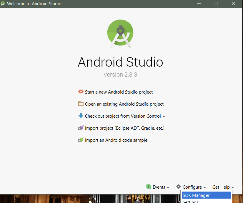 Android configure marco pucci